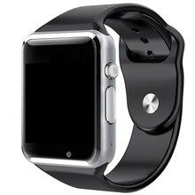 Heißer verkauf! Bluetooth Smart Watch Mann Uhr Smartwatch Für Android Smartwatch Mit Sim Einbauschlitz Sportuhr Armbanduhr PK Q8 GT0