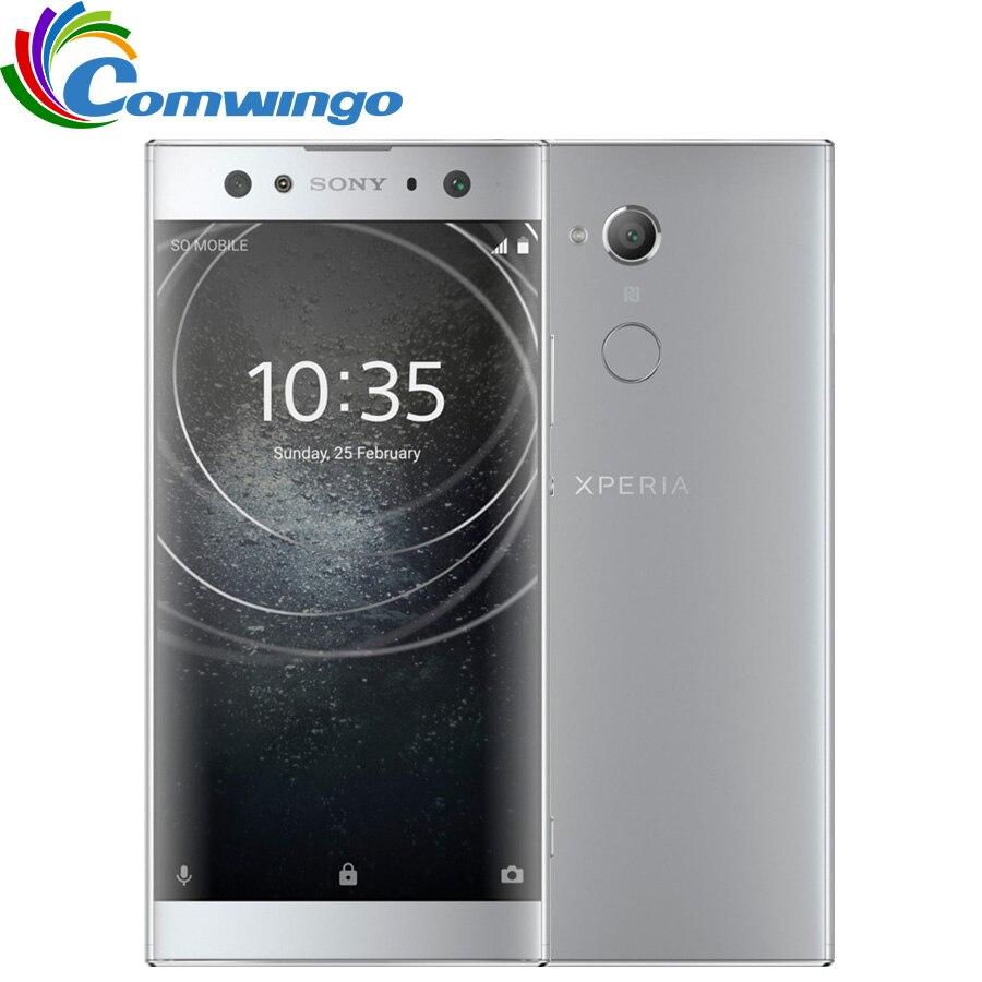 Original Sony Xperia XA2 Ultra H4233 64G ROM 4G RAM 23MP Octa Core NFC 3580mAh Dual Sim Android 8  Phone