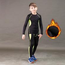 Зимний комплект термобелья; детское теплое термобелье; Homme Masculino; подштанники для мальчиков и девочек; подштанники для фитнеса; быстросохнущие