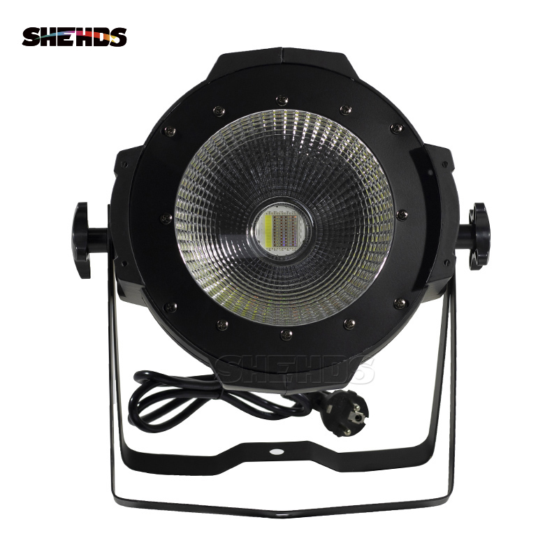 SHEHDS 2019 LED Par COB 100W RGBWA+UV 6in1 High Power Aluminium Case Stage Lighting With Dmx512 Control 5 Colors Available