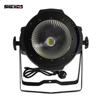 SHEHDS LED Par COB 100W RGBWA+UV 6in1 High Power Aluminium Case Stage Lighting with Dmx512 Control 5 Colors Available