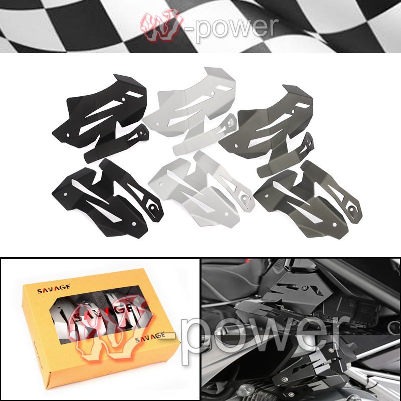 Motorcycle New Billet Aluminum Injection Cover Kit Protector Protectors Covers fite For BMW R1200GS LC 2013-2016, R1200R LC meziere wp101b sbc billet elec w p