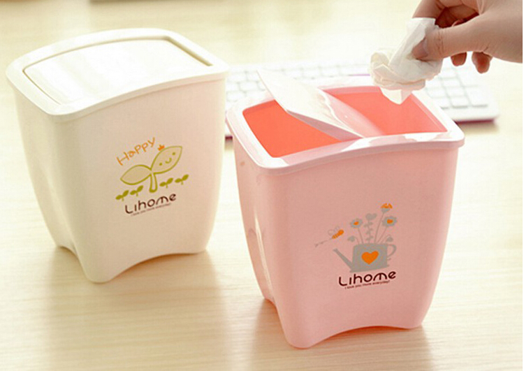 Compare prices on pink trash cans online shopping buy low price pink trash cans at factory - Pink kitchen trash can ...