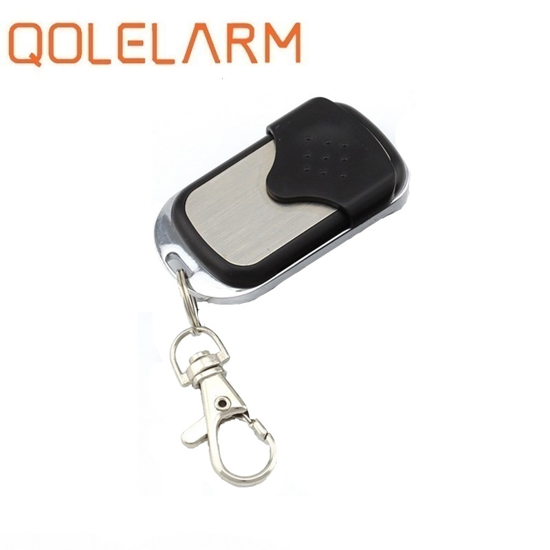 Qolelarm 1pc/ Lot CE Wireless 433.92MHZ Copy Garage Door Gate Barrier Copy Remote Controller For Gadgets Car Home