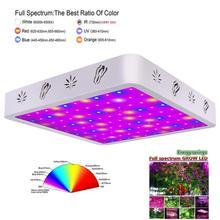 600 Вт Светодиодный светильник для выращивания растений AC85~ 265 В полный спектр, светильник для выращивания растений для комнатных растений, цветение растет, палатка для помещений, гидропоники