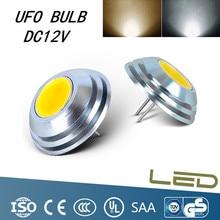 G4 Süper Parlak UFO Şemsiye Şekilli Downlight LED Işık mini mısır ampul DC12V COB Yüksek Güç Tüpü 25*18mm