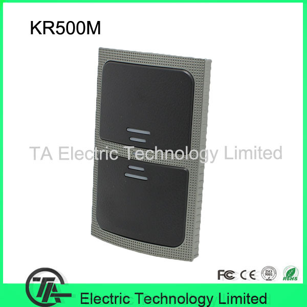 Handy smart card reader 13.56MHZ IC card reader KR500M Wiegand output access control system card reader IP65 waterproof