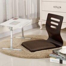 2 шт./лот) японское кресло дизайн дома гостиной мебель Kotatsu стол стул татами заису безногий пол стул Черная отделка