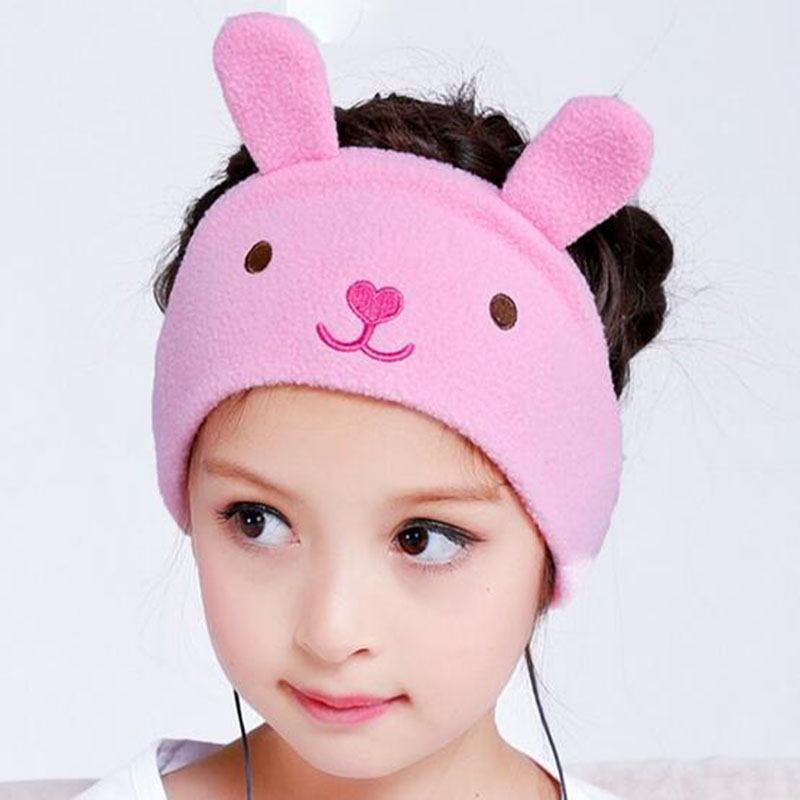 2017 high quality cartoon baby Headphones headband headset Bass Stereo earphone with Microphone headphones for children