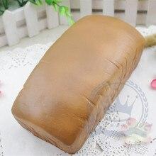 Squishy pillow memory foam bread fake bread model cake model props цена