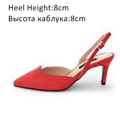 Red Shoes 8cm