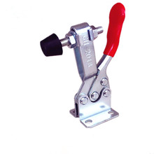 hand operated 20mm plunger stroke push pull toggle clamp 91kg 200 lbs 2 pcs 27KG 90KG 230KG Anti-Slip U Shape Toggle Clamp Holding Capacity Push Pull Toggle Clamp Vertical Horizontal Type for Hand Tool