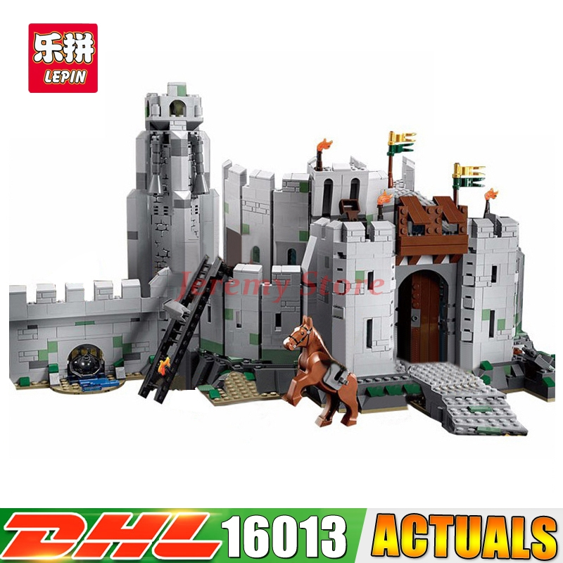 2018 LEPIN 16013 1368pcs Lord of Rings Series Battle Of Helm Deep Lepin Building Blocks Compatible 9474 Brick Toy 16013 castle knights the lord of the rings series the battle of helm deep model building blocks bricks toys for kids 9474 lepin