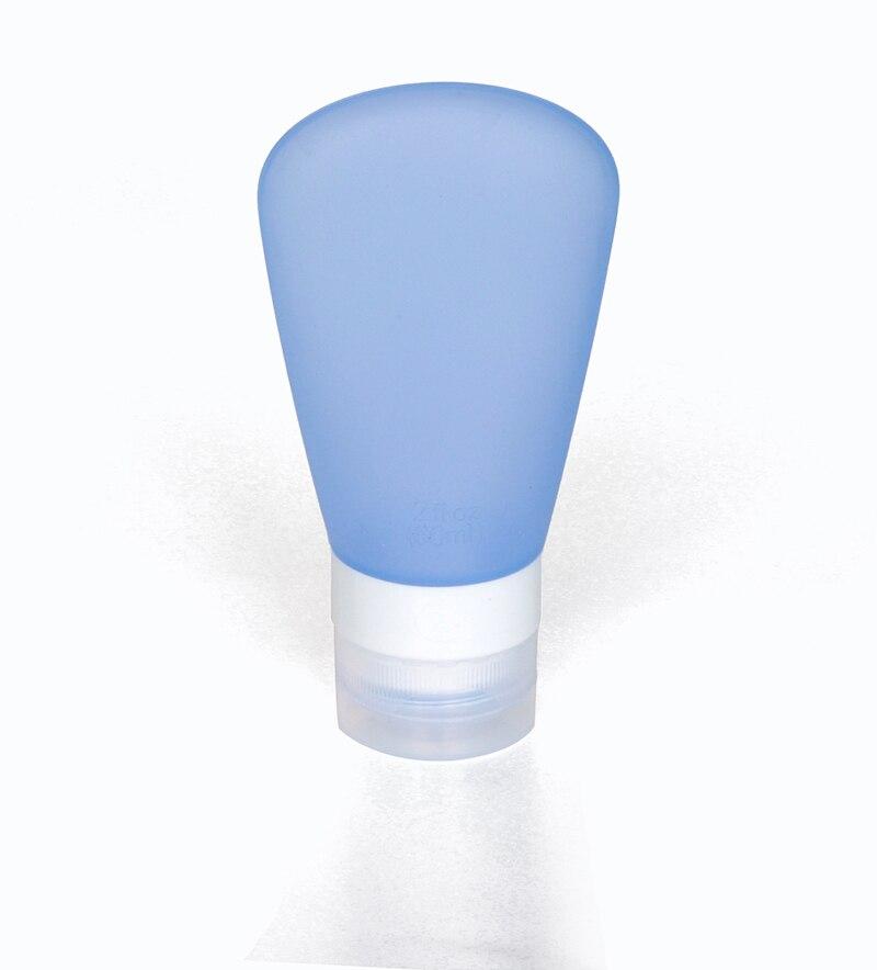 Silicona Botellas Rellenables Viajan Embalaje Prensa Botella Botella de Loción d