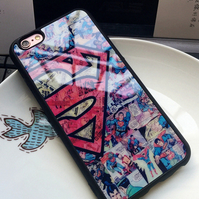 Superman Soft Silicone Case For Iphone