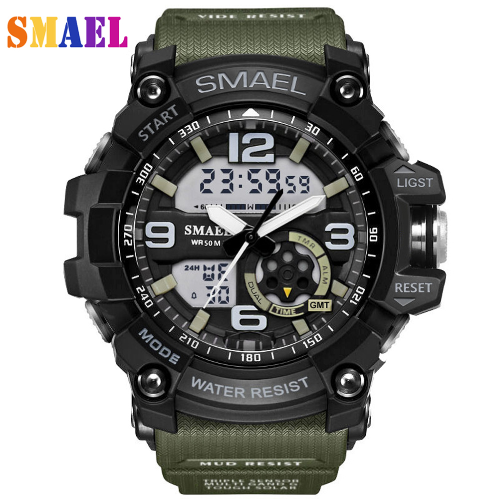 Military Mens Sports Watches Waterproof Relogio Masculino Men LED Quartz Digital Watch Reloj G S-Shock Electronic Wristwatch G17 cool led watch men analog alarm s shock led digital wrist watch mens smael watch men 1637 relogio masculino sport watch running