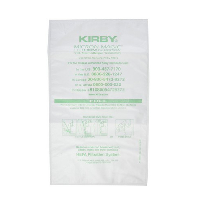 Vacuum Cleaner Dust Bags for Kirby Generation 3, 4, 5, 6, Ultimate G Series, F-Style & Sentria Models