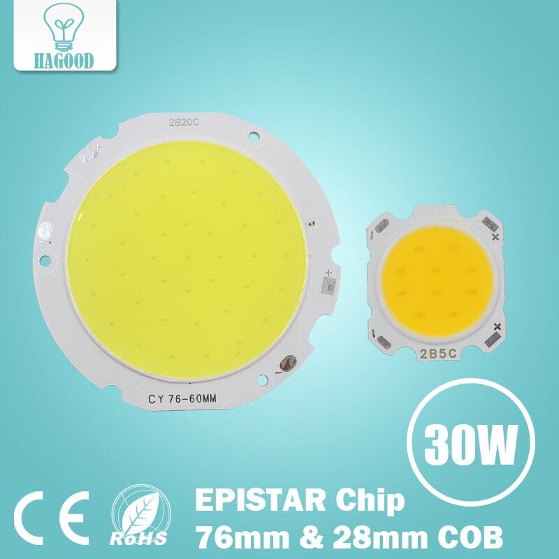 Free Shipping 1pce COB Led Chip 3W 5W 7W 10W 12W 18W 24W 30W Light-emitting Diode Surface Light for Led Spotlight Led Lamp diy 5mm led light emitting diode set 50pcs