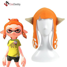 Splatoon 2 Inchling Calamar Cosplay Hat Party Pasamontañas Divertidos Disfraces de Halloween Accesorios Regalo para Adultos Kids brand CosDaddy