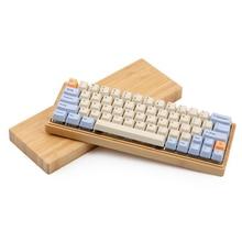 Blue Beige Orange Dye Sub Thick PBT OEM Profile Keycap For Mechanical Dz60 Gk64 Keyboard 1.75 Shift Mechanic Cherry Mx Teclado недорого
