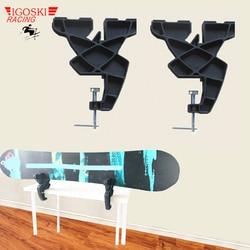 IGOSKI Multifunktions Alpine Sonwboard Ski Schraubstock Sport Plus Rennen oder Home Wachsen Tuning Kanten