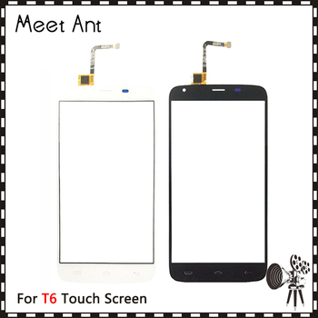 """10pcs/lot High Quality 5.5"""" For Doogee T6 Touch Screen Digitizer Sensor Outer Glass Lens Panel"""
