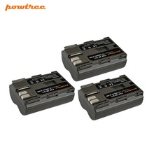 Powtree For Canon 3PCS 7.2V 2800mAh BP511 BP-511 BP 511 BP511A Camera Battery EOS 300 5D 10D 20D PowerShot G1 G2 G3 G5 G6