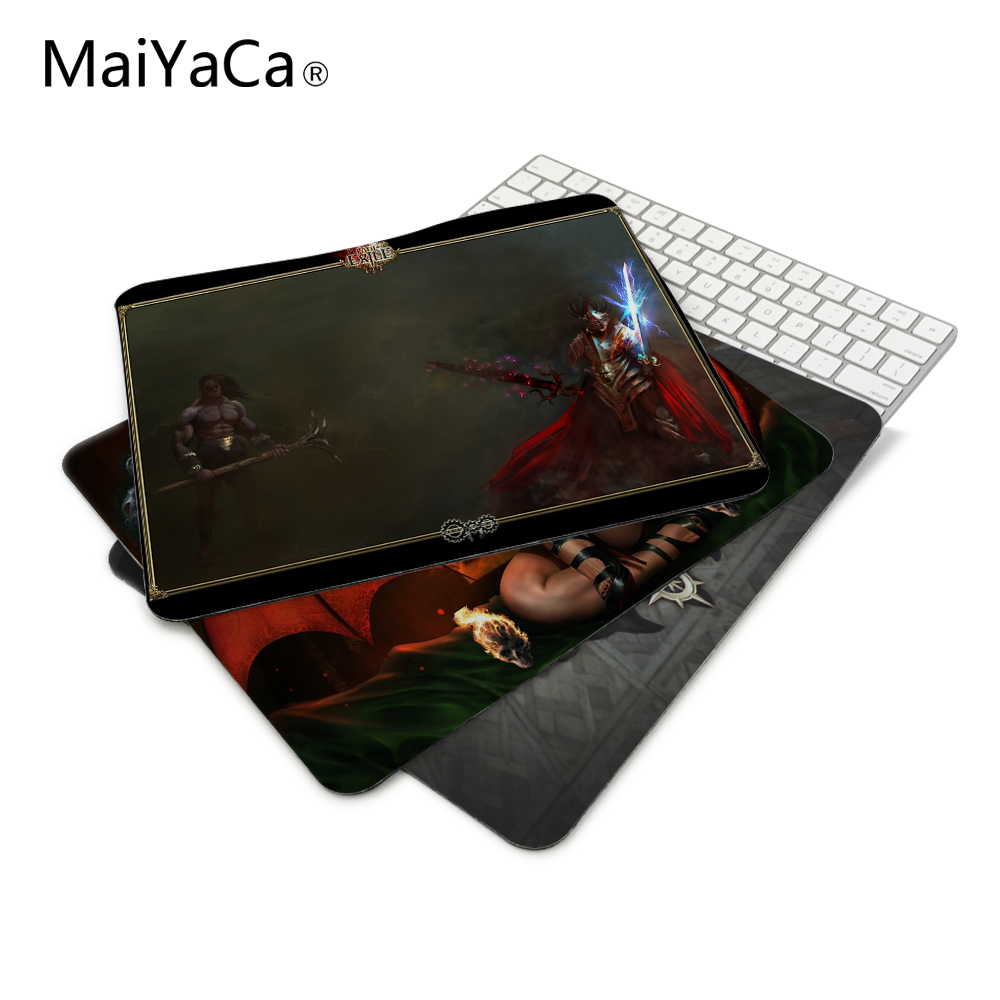 Path Of Exile Design Mouse Pad For PC Laptop 22*18cm and 25*29cm