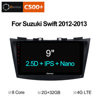 Ownice C500+ G10 Android 8.1 Car DVD Player For SUZUKI SWIFT 2012 2013 With vehicle GPS Navigation Bluetooth Carplay Radio Map