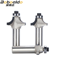 """1pc 1/2"""" Shank Diamond Chamfer Round Router Bits Woodworking Cutter Slotter Engraving Machine Tool PCD Router Bit