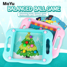 New MoYu 3D Balance Ball Fairy Tales Board Beads Game Escape Hand Held Fun Skill Puzzle Educational Toys For Children Gift