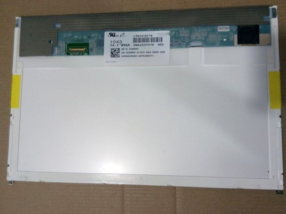 free shipping new 14 1 lcd led screen for dell e6410 notbook lp141wx5 tpp1 ltn141at16 b141ew05 v 5 n141i6 d11 Quying 14.1 WXGA LED DISPLAY LTN141AT16 B141EW05 V5 FOR DELL  E6410 E5410 LCD SCREEN