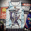 New 2018 Tank Top breathable summer fitness sleeveless leisure Vest T-shirt, train, 3D printing No.30 Curry men's vest 1915 3