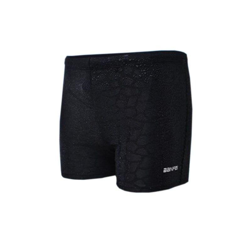 DICHSKI High Quality Flat Swim Trunks Men's Briefs Swimming Trunks Flat Angle Hot Spring Swimsuit Shorts Male Swimwear Plus Size