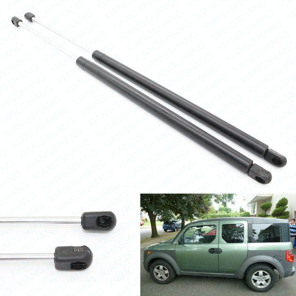 (2) Auto Rear Liftgate Hatch Boot Gas Charged Struts Lift Support For 2003-2009 2010 2011 Honda Element Sport Utility 22.83 inch