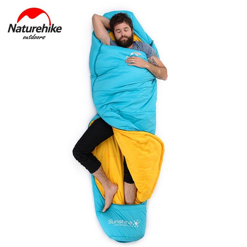 Naturel randonnée Camping en plein air sac de couchage étanche ultraléger Camping sac de couchage adulte printemps Portable sac de Compression