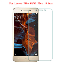 0.3mm Tempered Glass for Lenovo Vibe K5 K5 Plus A6020 5 inch 9H Hard 0.2mm  Transparent Screen Protector with Clean Tools