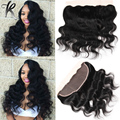 13x4 Ear To Ear Lace Frontal Closure Indian Body Wave Lace Frontals Virgin Human Hair Closure Full Frontal Lace Closure