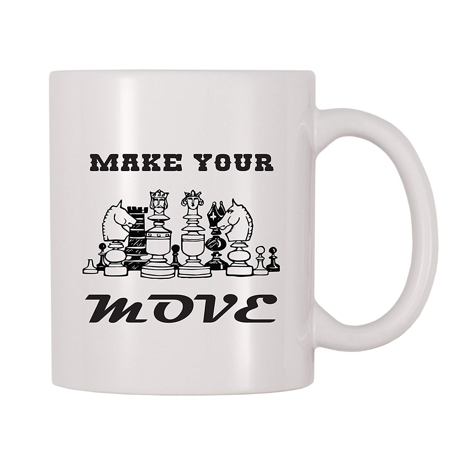 Make Your Move Chess Mug (11 oz) image