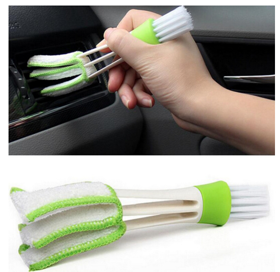Car Diy New Plastic Car Air Conditioning Vent Blinds Cleaning Brush For Series Part Accessories