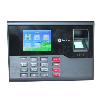 ФОТО Free shipping New Biometric Fingerprint time attendance and RFID Card time recording A-C120