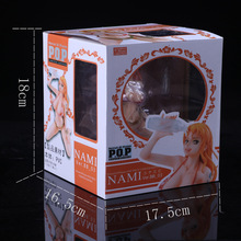 One Piece Sexy Nami Drinking Version Doll 15CM