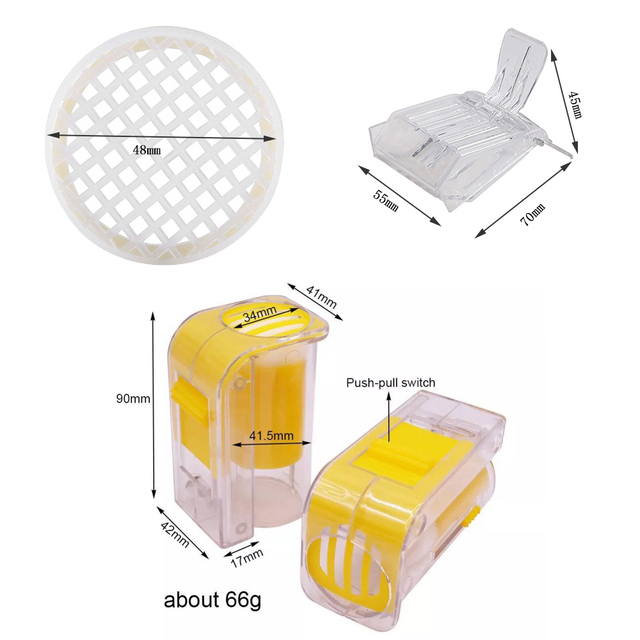 Complete Bee Queen Rearing Cup Kit System  4