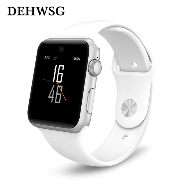DM09 Bluetooth Smart Watch HD Screen Support SIM Card Wearable Devices SmartWatch For Iphone 8
