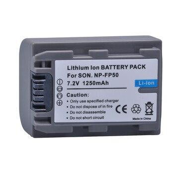 1 Pc NP-FP50 NP FP50 NPFP50 Batterie pour Sony NP-FP30 NP-FP50 NP-FP60 NP-FP70 NP-FP71 NP-FP90 Sony DCR-SX40 SX40R SX41 HDR-CX105