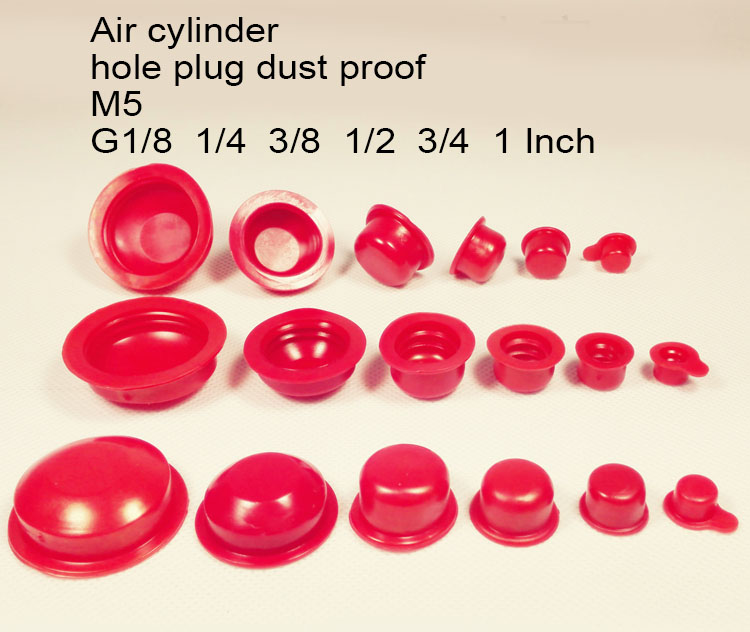 1/8 1/4 12 3/8 1/2 3/4 1 inch M5 Air cylinder hole plug PVC plastic cap inner thread nut pipe cover dust proof hole inserting-in Sealing Strips from Home ...  sc 1 st  AliExpress.com & 1/8 1/4 12 3/8 1/2 3/4 1 inch M5 Air cylinder hole plug PVC plastic ...