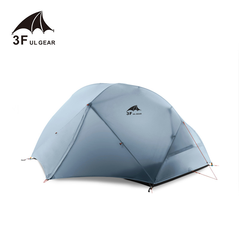 Aspiring 3f Ul Gear 2 Person 4 Season Camping Tent Outdoor Ultralight Hiking Backpacking Hunting Waterproof Tent 15d Silicone Zelt Tenten
