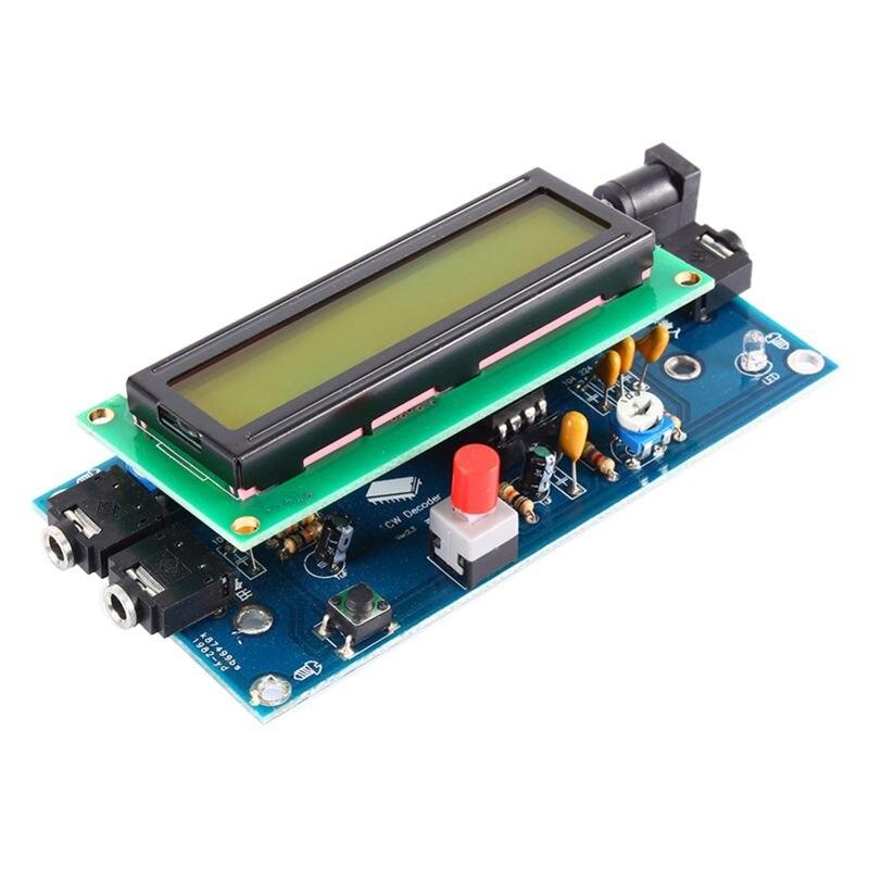 Morse Code Reader / CW Decoder / Morse Code Translator / Morse Translator Reader,blue