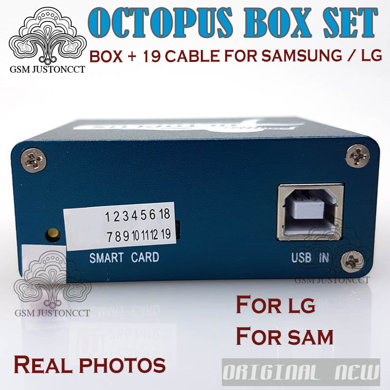 Hot Selling Full activated Octopus Box + 19 in 1 Full Cable