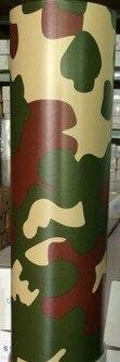 Новинка! Воздушные пузырьки камуфляжная автомобильная деформация изменение цвета виниловая пленка автомобильная наклейка KF-F2015 - Название цвета: forest